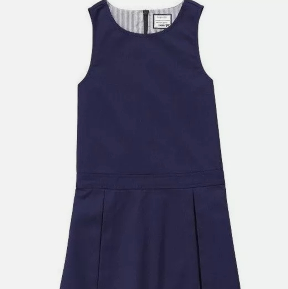 GYMBOREE Girl School Uniform Dress Jumper 5 YRS